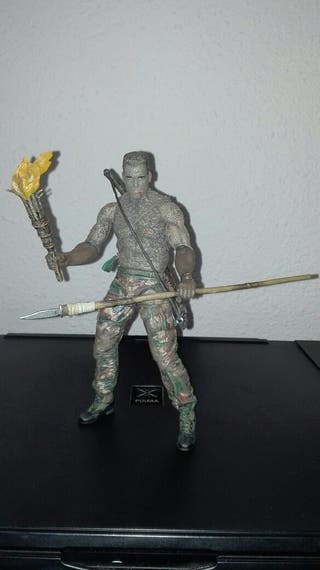 DUTCH JUNGLE DISGUISE (PREDATOR) (NECA)