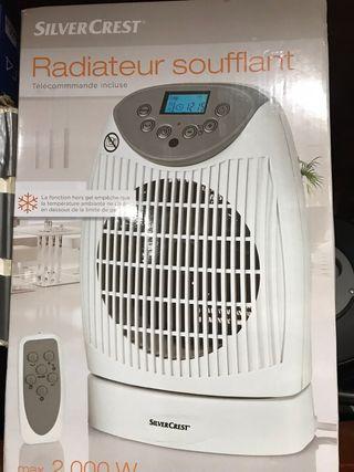 Calefactor pequeño radiador eléctrico programable