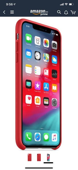 Funda appel iPhone X y XS