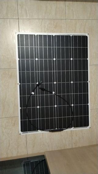 Placa solar flexible 100 w