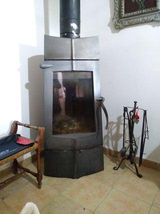 chimenea de fundicion
