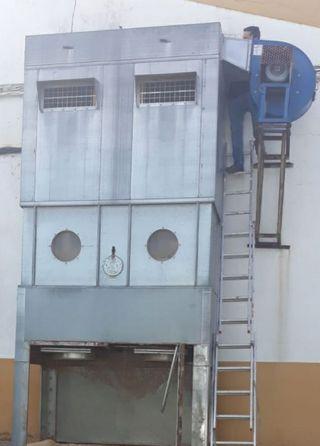 aspiración carpintería silo