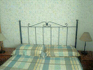 Cabecero cama de forja