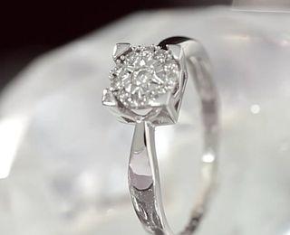 eb5b44af866b Anillo diamantes de segunda mano en la provincia de Valencia en WALLAPOP