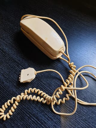 teléfono góndola color beig