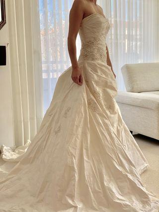 Vestido se novia talla 38 (M)