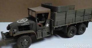 Camión americano CARGO TRUCK 1/35 Montado y pintad