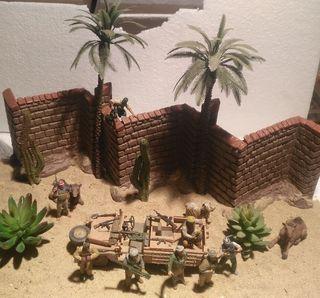 Escena Irak insurgentes 1/35 montado para diorama