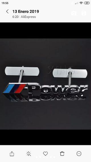 Oferta Emblema 3D BMW M para parrilla delantera
