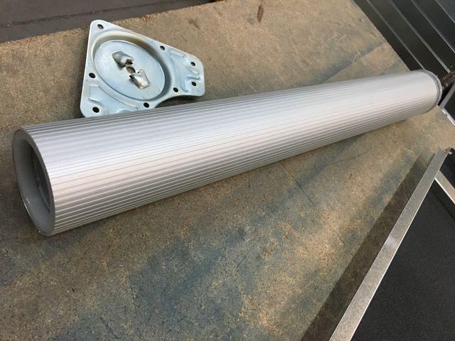 Patas de aluminio de 80mm de diámetro