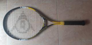 raqueta front tenis dunlop