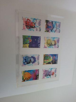 Primera colección de sellos