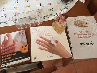 Libros manicura y pedicura