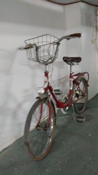 Bici antigua de paseo