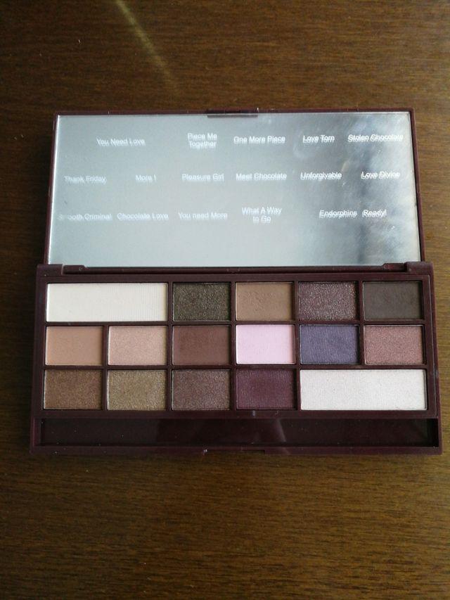 Paleta de sombras I love Makeup