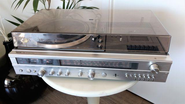 Tocadiscos radio Cassette Philips 995 años 80