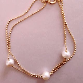 1200f24e1ac8 Pulsera de perlas cultivadas de segunda mano en Madrid en WALLAPOP