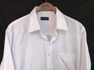 Camisa ARMANI JEANS talla XL blanca