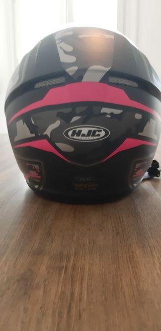 casco moto HJC chica