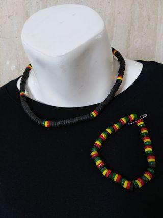Conjunto de collar + pulsera