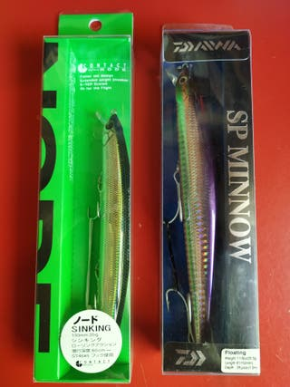 Pack Señuelos Pesca Spinning Daiwa y Tackle House