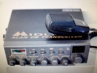 radio CB Alan 87 y antena Santiago 1200