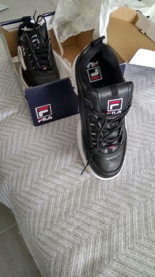 zapatillas disruptor negras
