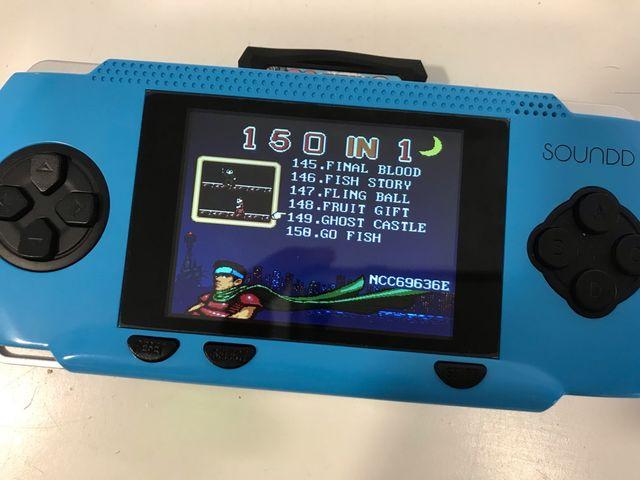 Consola videojuego portatil 150 juegos