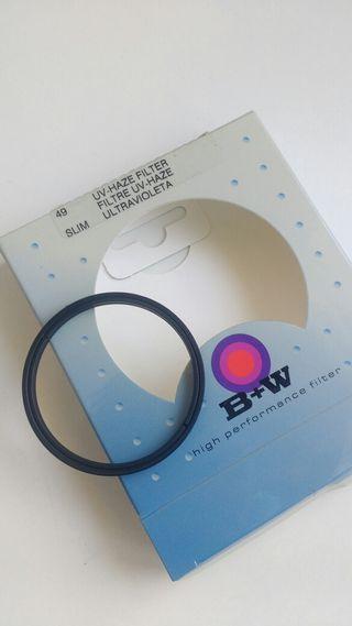Filtro UV B+W slim 49mm