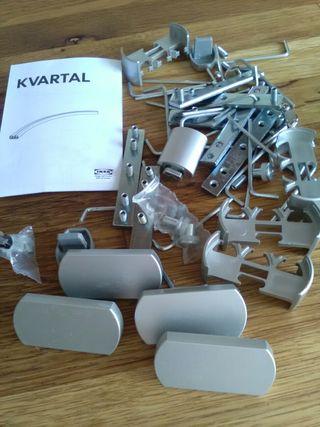 Accesorios barra Cortina Ikea Kvartal