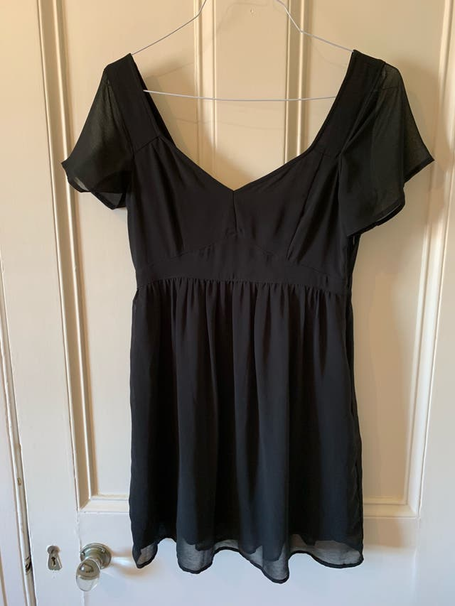 Hollister black dress size M