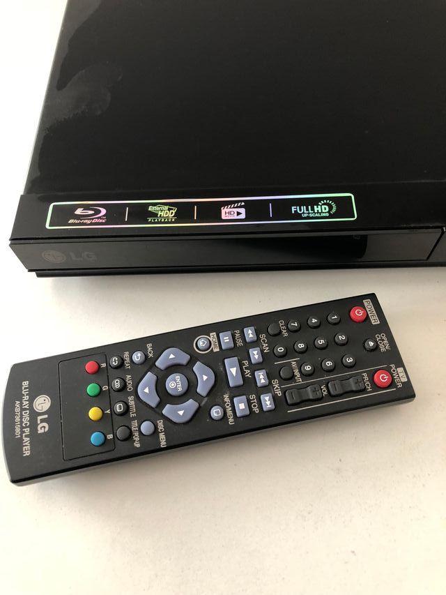 DVD LG, Modelo: Bp 120