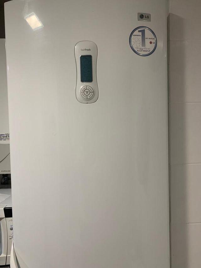 Nevera combi frigorífico LG
