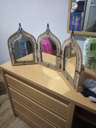espejo estilo árabe
