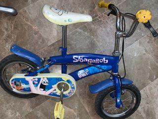 Bicicleta de niñ@ bob esponja en buen estado