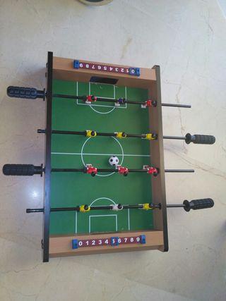 futbolín de mesa para niños
