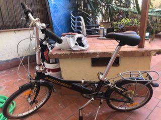 Bicicleta plegable marca Nishiki náutica D7