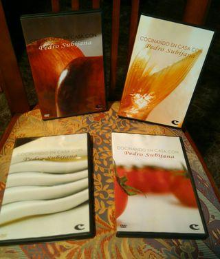 5 DVD'S DE COCINA