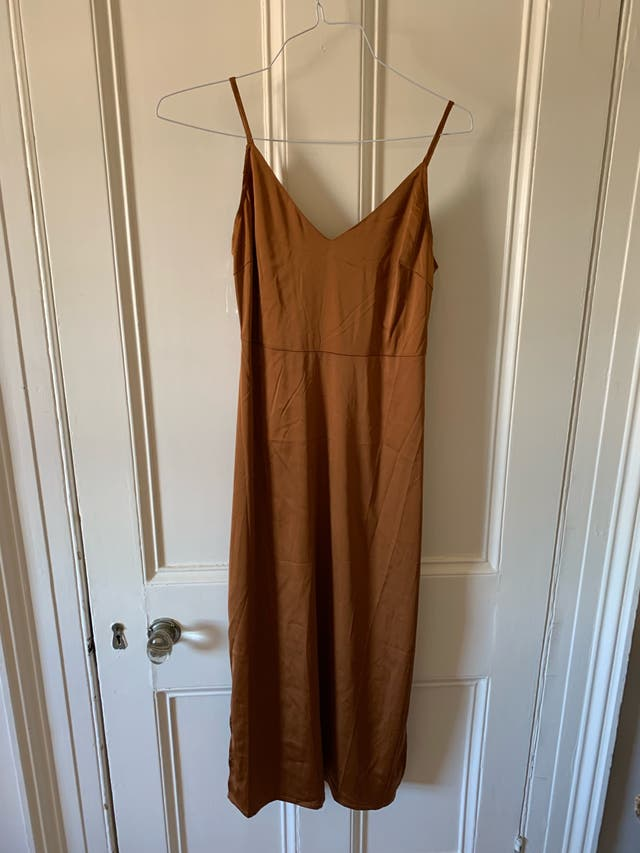 Nasty gal satin dress size 10