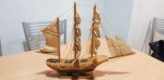 Barco velero maqueta