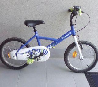 "Bicicleta 16"" decathlon"