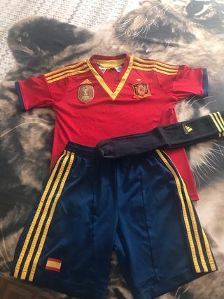Equipación selección Española