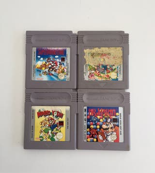 LOTE MARIO BROS gameboy