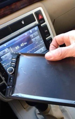 Radio pantalla coche