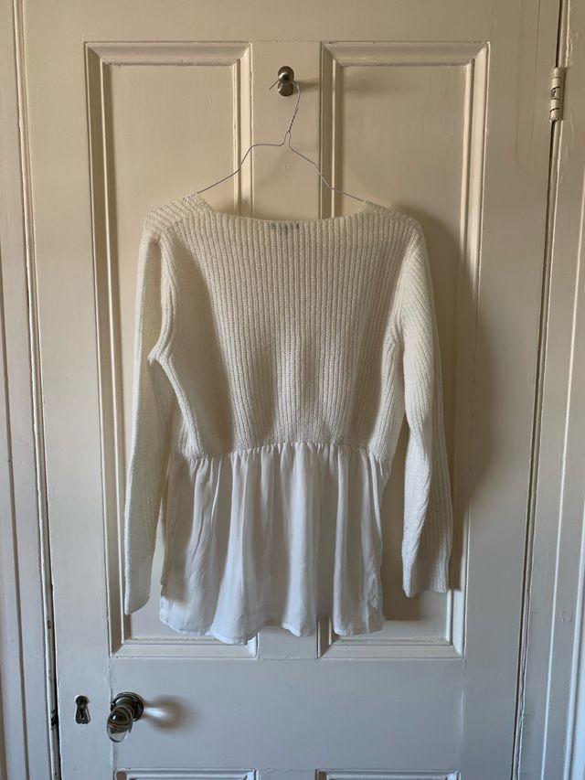 White Kiabi jumper size L