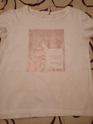 Lote 4 camisetas talla M..