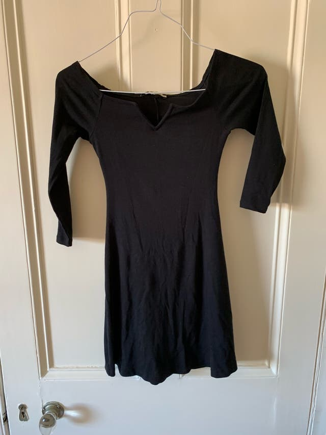 Pull and bear black dress size S