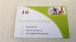 MANTENIMIENTOS Y LIMPIEZAS
