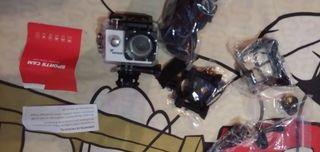 cámara de fotos pars el agua