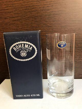 Vaso de Cristal de Bohemia